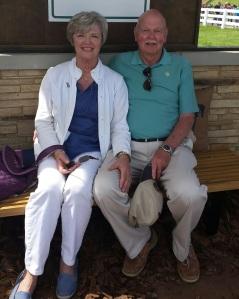 Barbara and Al Webb at Rolex